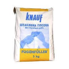 Шпаклевка гипсовая Кнауф Фугенфюллер Г2 ШГ 2-1 5 кг