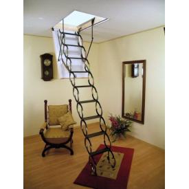 Чердачная лестница Oman сосна металл