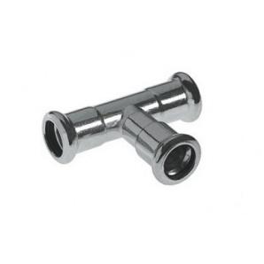 Трійник редукційний 54x28x54 мм press INOX Kan 6191559