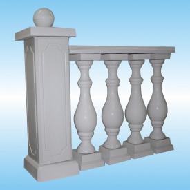 Балюстрада бетонна з балясиною класичною 160 мм
