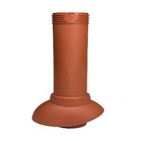 Вентиляционная труба 110/160/500 изолированная Shinglas коричневая