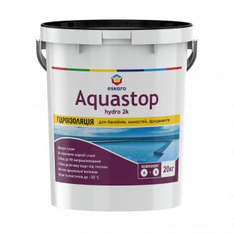 Двокомпонентна гідроізоляційна мастика Aquastop Hydro 2К 20 кг