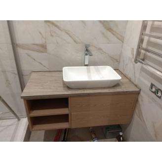 Столешница в ванную из акрила Marble Ocean M705