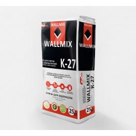 Клей для плитки высокоэластичный WALLMIX K-27 25 кг