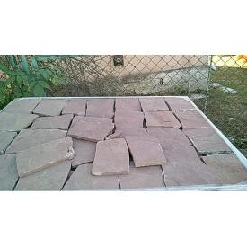 Плитка облицовочная каменная 1,5 см красная