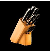 Набор ножей из углеродистой стали Vinzer Chef (89119)