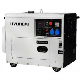 Дизельный генератор DHY 8000SE Hyundai
