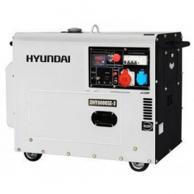 Дизельный генератор DHY 8000SE-3 Hyundai