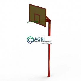 Баскетбольная стойка с кольцом KB1 1,80х3,80х0,80 м