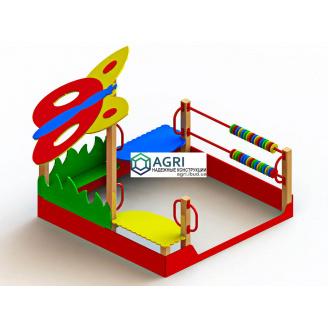 Пісочниця для дітей Метелик A-9500
