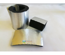 Изоляция труб 54(13)мм Kaiflex из вспененного каучука с алюм покрытием для наружного применения