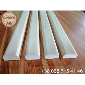 Лежак для сауни з липи 30х80х1000 мм