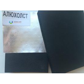 Защитное покрытие Алюхолст AL+PET С на основе стеклоткани самоклейка от -70 до +250 градусов