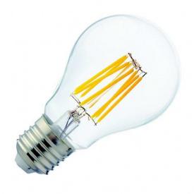 """Лампа Світлодіодна Filament Globe - 8"""" 8W A60 2700К Е27"""