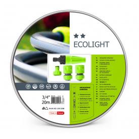 """Поливочный набор CellFast ECOLIGHT шланг 1/2"""" 20 м + комплект соединителей 3/4"""""""
