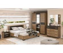 Спальня Мебель-Сервис Вероника дуб април