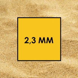 Песок речной 2,3 мм