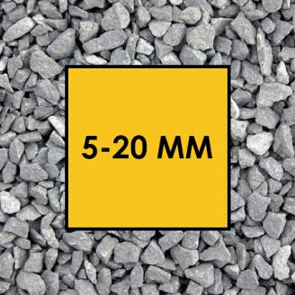 Щебінь гранітний фракція 5-20 мм
