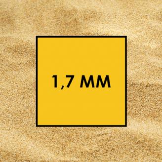 Пісок річковий 1,7 мм