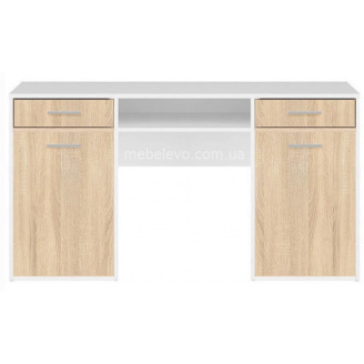 стол письменный BIU150 Нимфея альба + дуб сонома Непо Гербор