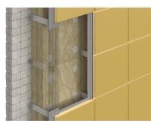 Утеплювач DoorHan Вент Оптима 75 кг/м3 для вентильованих фасадів 1200х600х100 мм