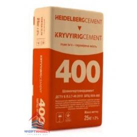 Цемент ШПЦ-400 25 кг Хайдельберг