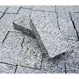 Гранітна бруківка полнопіленная Покостовського граніту 200 (100) х100х30 мм