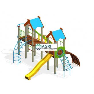 Игровой комплекс Парк пластик A-55500