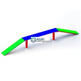 Кольца гимнастические A-3390