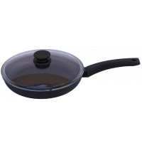 Сковорода со стеклянной крышкой Биол Оптима 24 см
