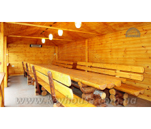 Імітація бруса клеєна на потолок 20х70х3000 мм сосна
