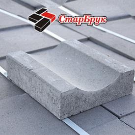 Відлив бетонний 250х220х70 СтарБрук вібропресований
