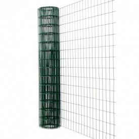 Рулонная сетка с полимерным покрытием для ограждений (для забора)