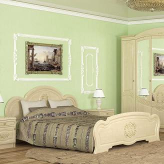 Ліжко двоспальне Меблі-Сервіс Бароко 1750х1050х2065 мм береза