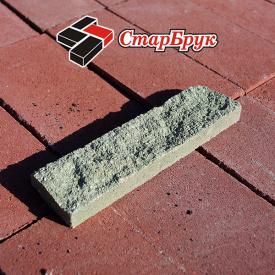 Рвана цегла плитка Скеля 250х62х20 мм зелена