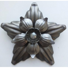 Цветок кованый 35 мм 1,5 мм