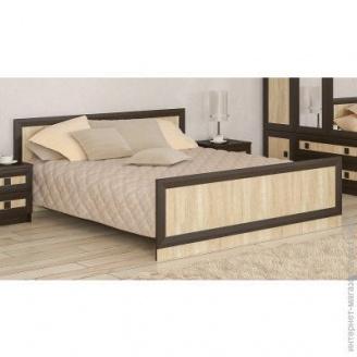 Кровать Мебель-Сервис Даллас 204х180х79 см дуб санома