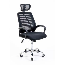 Компьютерное кресло Richman Armchair Blast Хром черный сетка пластик