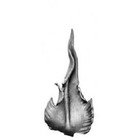 Лист кованый 135x60 мм 4 мм