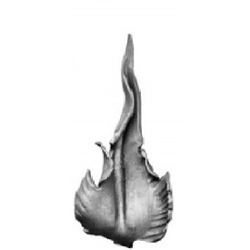 Лист кованый 215х100 мм 4 мм