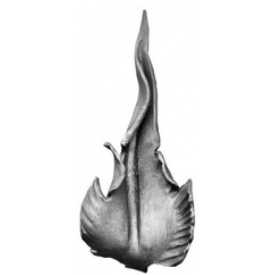 Лист кованый 300х140 мм 2 мм