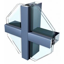 Алюмінієві світлопрозорі конструкції 50F