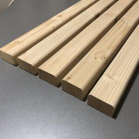 Лавочный брус Деревянный декор 40х60 мм