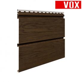 Софіт VOX Infratop Перфорований горіх