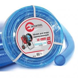 """Шланг для воды 3-х слойный 1/2"""" 30 м армированный PVC INTERTOOL GE-4055"""