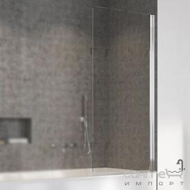 Шторка для ванны Radaway Nes PNJ 100 10011100-01-01R правосторонняя, хром/прозрачное стекло