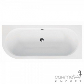 Асимметричная ванна Besco Avita 160x75 белая, правая