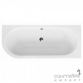 Асимметричная ванна Besco Avita 180x80 белая, правая