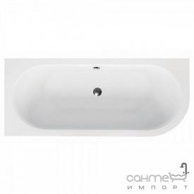 Асимметричная ванна Besco Avita 160x75 белая, левая