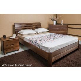 Ліжко дерев`яна ТМ Олімп Маріта S 200х140 см